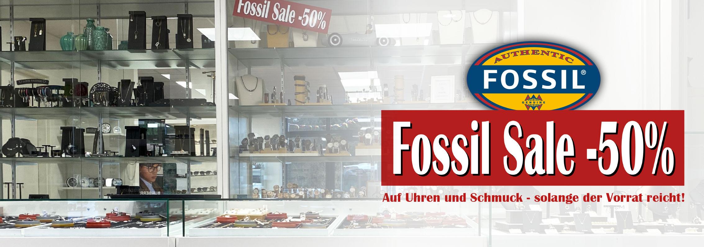 Fossil Sale 50%
